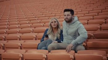 Progressive TV Spot, \'Baker Mayfield Gets a Beverage\' Featuring Baker Mayfield, Emily Wilkinson