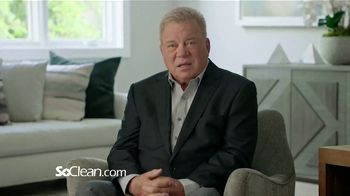 SoClean TV Spot, 'Healthy Sleep Every Night: $50 Off' Featuring William Shatner