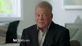 SoClean TV Spot, 'Healthy Sleep Every Night: $50 Off' Featuring William Shatner - Thumbnail 2