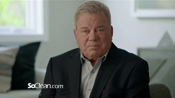 SoClean TV Spot, 'Healthy Sleep Every Night: $50 Off' Featuring William Shatner - Thumbnail 4