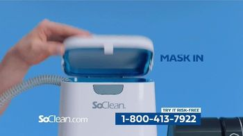 SoClean TV Spot, 'Healthy Sleep Every Night: $50 Off' Featuring William Shatner - Thumbnail 5