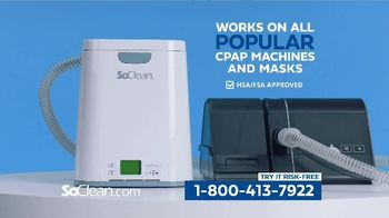 SoClean TV Spot, 'Healthy Sleep Every Night: $50 Off' Featuring William Shatner - Thumbnail 7