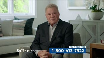 SoClean TV Spot, 'Healthy Sleep Every Night: $50 Off' Featuring William Shatner - Thumbnail 8