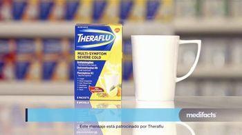 Theraflu Multi-System Severe Cold TV Spot, 'Medifacts: alivio rápido' [Spanish] - Thumbnail 7