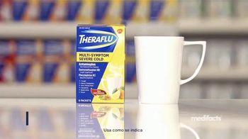 Theraflu Multi-System Severe Cold TV Spot, 'Medifacts: alivio rápido' [Spanish] - Thumbnail 4