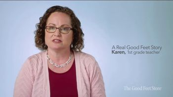 The Good Feet Store TV Spot, 'Karen'