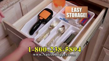 NutriChopper TV Spot, 'Lightning Speed: $19.99' - Thumbnail 8