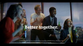 Heineken 0.0 TV Spot, 'Better Together: Office' Song by Eric Carmen - Thumbnail 3