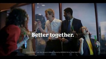 Heineken 0.0 TV Spot, 'Better Together: Office' Song by Eric Carmen - Thumbnail 4