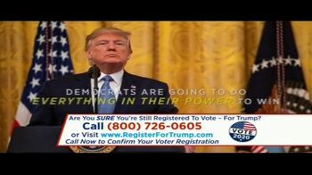 Great America PAC TV Spot, \'Confirm Your Voter Registration\'