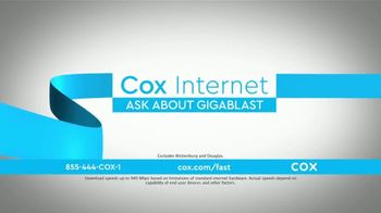 Cox Internet TV Spot, 'Connect: Gigablast' - Thumbnail 2