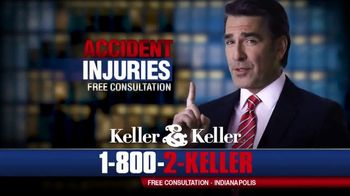 Keller & Keller TV Spot, 'Accident Injuries: All You Have to Do Is Sign' - Thumbnail 6