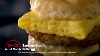 McDonald's 2 for $4 Mix & Match TV Spot, 'Wake up Breakfast: Pressure Washer' - Thumbnail 9