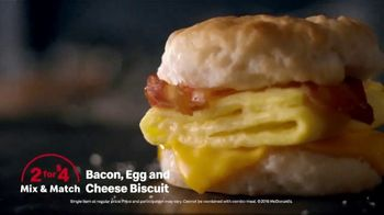 McDonald's 2 for $4 Mix & Match TV Spot, 'Wake up Breakfast: Pressure Washer' - Thumbnail 8