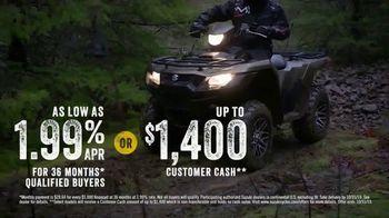 Suzuki Quad Fair Sales Event TV Spot, 'More for Less' - Thumbnail 6