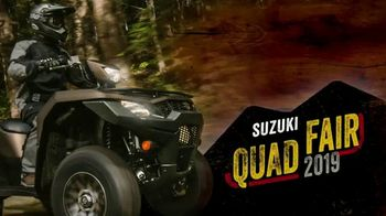 Suzuki Quad Fair Sales Event TV Spot, 'More for Less' - Thumbnail 9