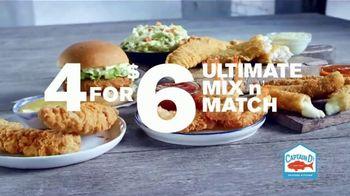 Captain D's 4 for $6 Ultimate Mix n' Match TV Spot, 'Tasty Favorites' - Thumbnail 3
