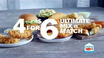 Captain D's 4 for $6 Ultimate Mix n' Match TV Spot, 'Tasty Favorites' - Thumbnail 6