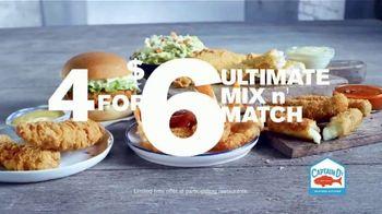 Captain D's 4 for $6 Ultimate Mix n' Match TV Spot, 'Tasty Favorites' - Thumbnail 7