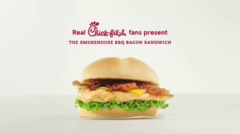 Chick-fil-A Smokehouse BBQ Bacon Sandwich TV Spot, 'Jarell and Brittany: It's Back' - Thumbnail 1