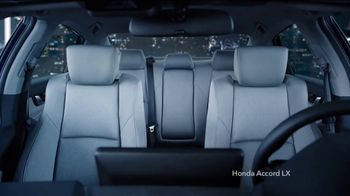 2019 Honda Accord LX TV Spot, 'All by Itself' [T2] - Thumbnail 5