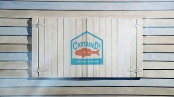 Captain D's Seafood Tacos TV Spot, 'History-Making Tastiness' - Thumbnail 1