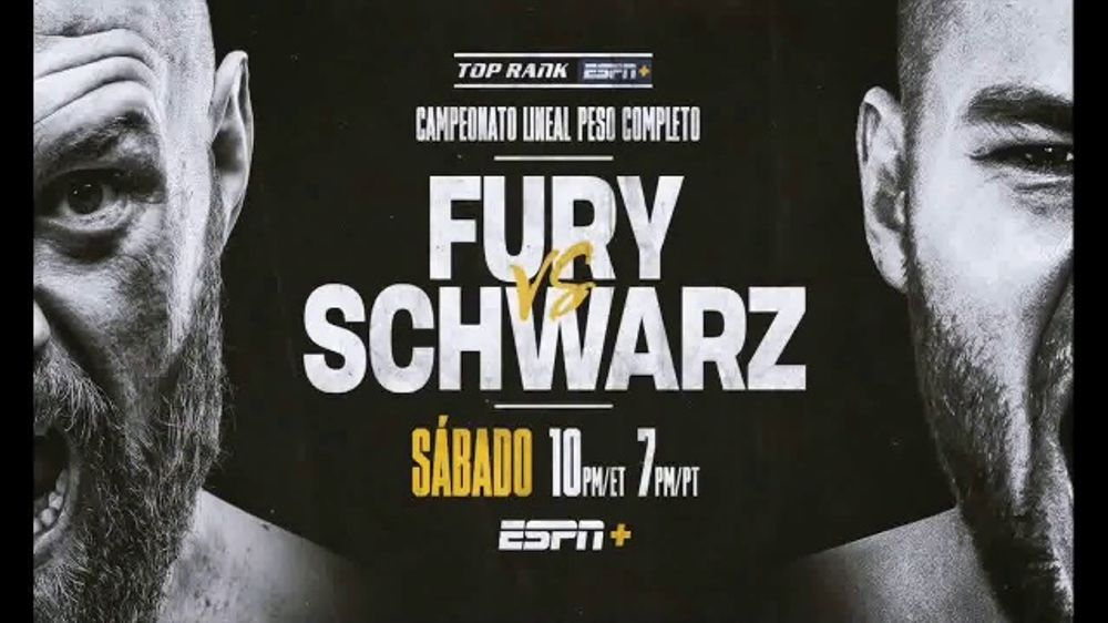ESPN+ TV Commercial, 'Top Rank: Fury vs  Schwarz' Song by Lil Wayne  [Spanish] - Video