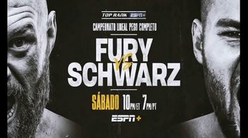 ESPN+ TV Spot, 'Top Rank: Fury vs. Schwarz' Song by Lil Wayne [Spanish] - Thumbnail 10