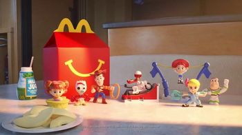 McDonald\'s Happy Meal TV Spot, \'Toy Story 4: Be There For Each Other\'