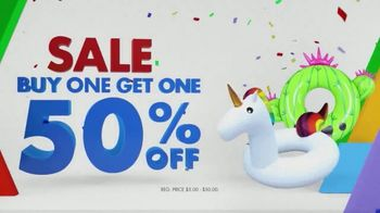 Party City TV Spot, 'Pool Inflatables, Table Covers & Party Cups'