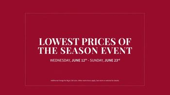 JoS. A. Bank Lowest Prices of the Season Event TV Spot, 'Starts Wednesday' - Thumbnail 5