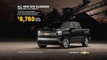 2019 Chevrolet Silverado TV Spot, 'Spotlight' [T2] - Thumbnail 8