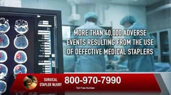 Surgical Staplers Helpline TV Spot, 'Injury' - Thumbnail 4
