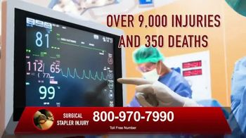 Surgical Staplers Helpline TV Spot, 'Injury' - Thumbnail 5