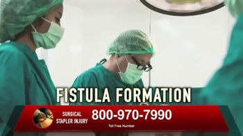 Surgical Staplers Helpline TV Spot, 'Injury' - Thumbnail 6