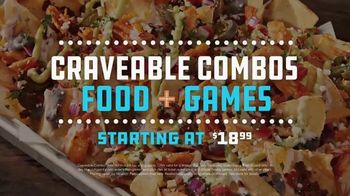 Dave and Buster's All You Can Play for $8 TV Spot, 'Craveable Combos' - Thumbnail 4