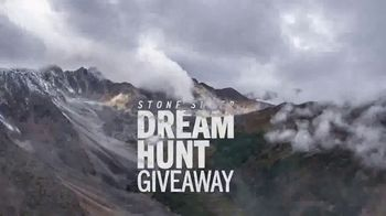 Stone Sheep Dream Hunt Giveaway TV Spot, 'One Hunter's Life' Featuring Greg McHale - Thumbnail 1