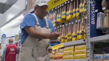 Lowe's Father's Day Sale TV Spot, 'Paint It Right: Purdy Brushes' - Thumbnail 4