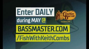 Cracker Barrel Old Country Store and Restaurant TV Spot, 'Fish With Keith Combs Sweepstakes' - Thumbnail 8