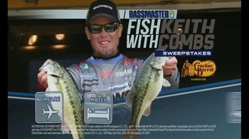 Cracker Barrel Old Country Store and Restaurant TV Spot, 'Fish With Keith Combs Sweepstakes'