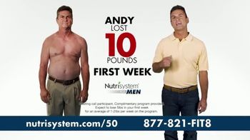 Nutrisystem for Men TV Spot, \'So Simple\'