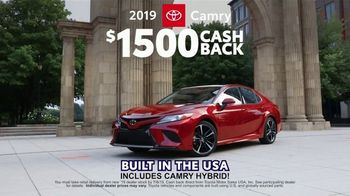 Toyota Great American Summer Event TV Spot, 'One Name Big Enough: Big Savings' [T2] - Thumbnail 6