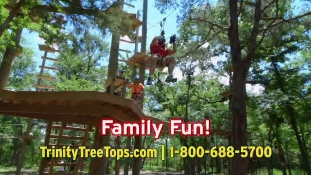 Trinity Forest Adventure Park TV Commercial, '22 Zip Lines' - Video