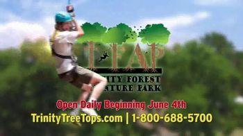 Trinity Forest Adventure Park TV Spot, '22 Zip Lines' - Thumbnail 7