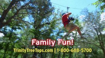 Trinity Forest Adventure Park TV Spot, '22 Zip Lines' - Thumbnail 2