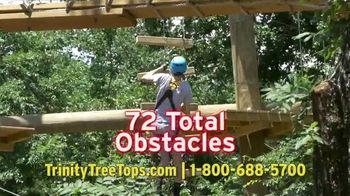Trinity Forest Adventure Park TV Spot, '22 Zip Lines' - Thumbnail 4