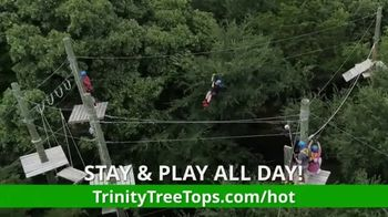 Trinity Forest Adventure Park TV Spot, 'Stay & Play' - Thumbnail 3