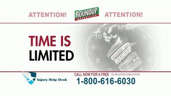 Injury Help Desk TV Spot, 'Roundup Compensation'