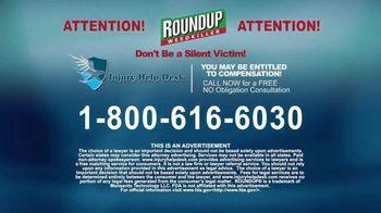 Injury Help Desk TV Spot, 'Roundup Compensation' - Thumbnail 8