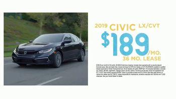 2019 Honda Civic TV Spot, 'The Advantage' [T2] - Thumbnail 2